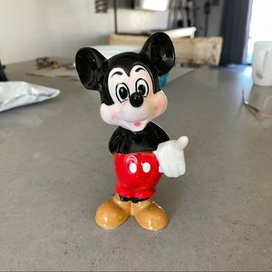 •3 for $20• VINTAGE Mickey Mouse figurine